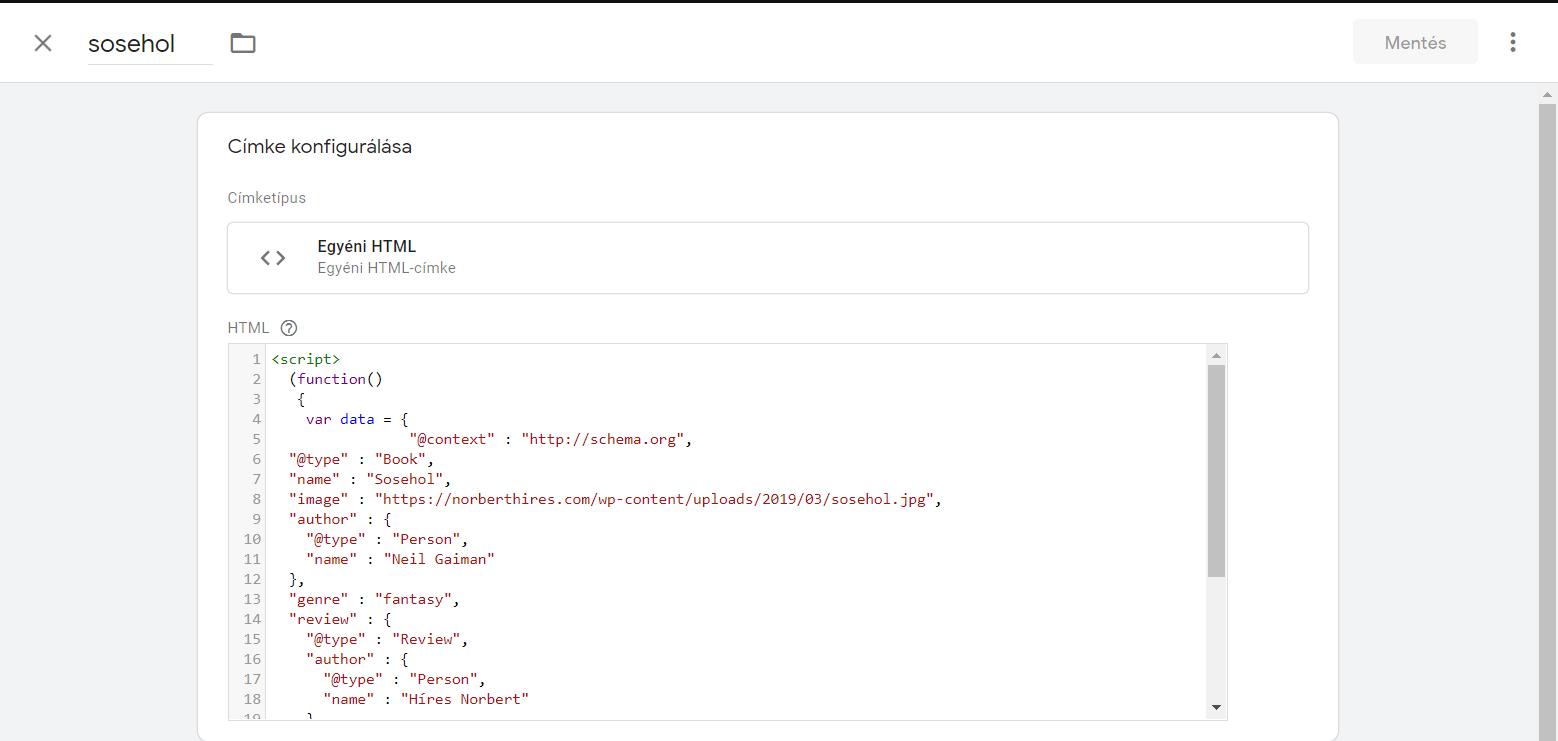 json kód schema