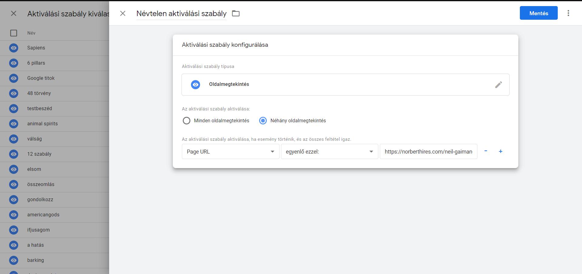 google tag manager útmutató