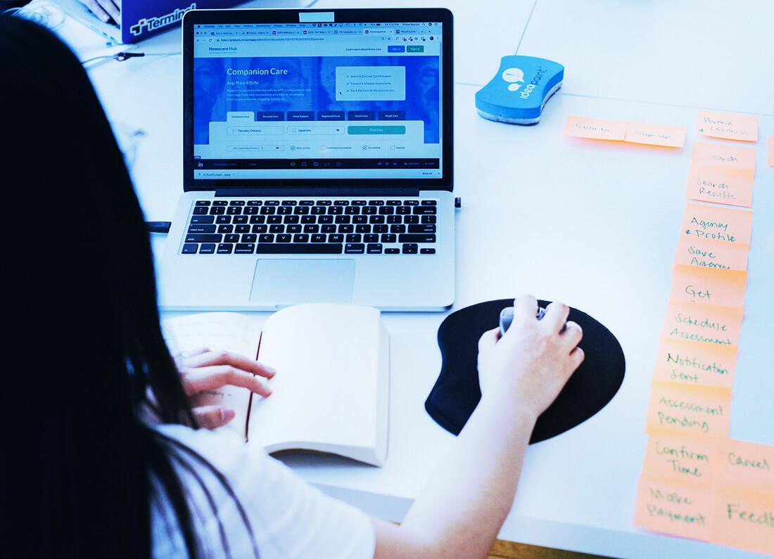 10 ötlet startup weboldal tervezéshez