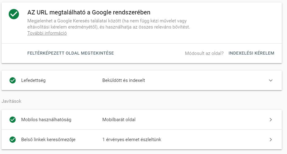 URL ellenőrzése