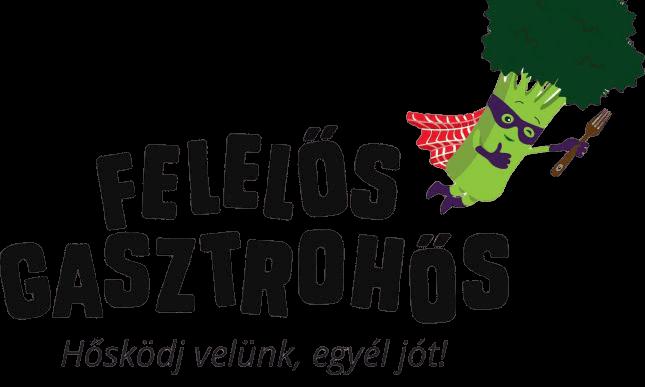 Felelős Gasztrohős alapítvány logó